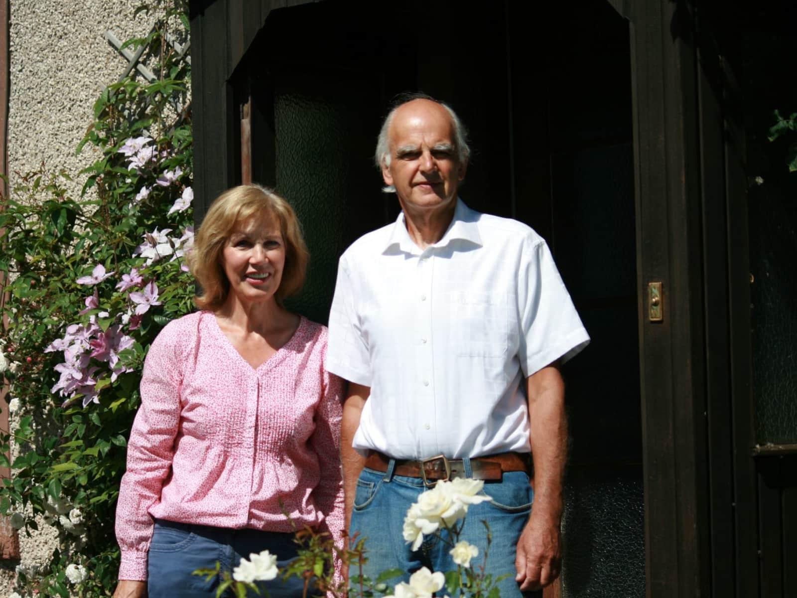 Aileen & Bruce from Edinburgh, United Kingdom
