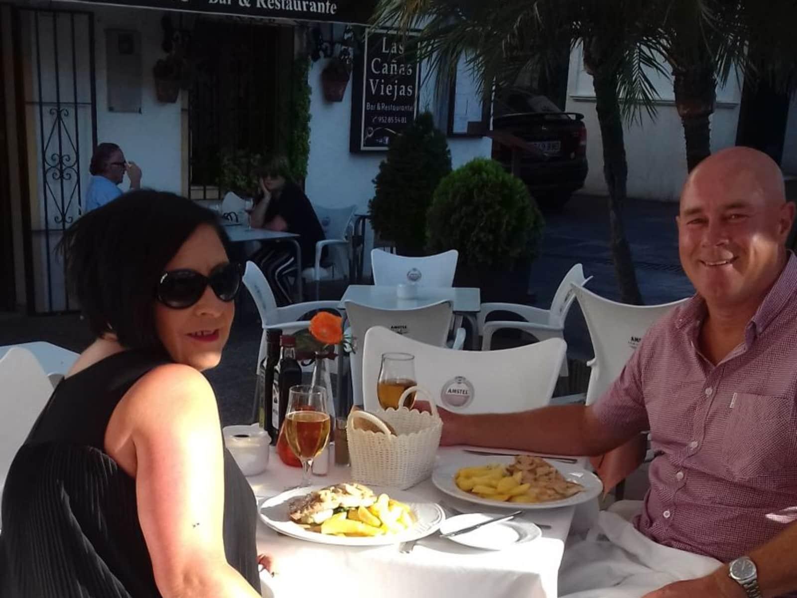 Trevor & Diana from Estepona, Spain