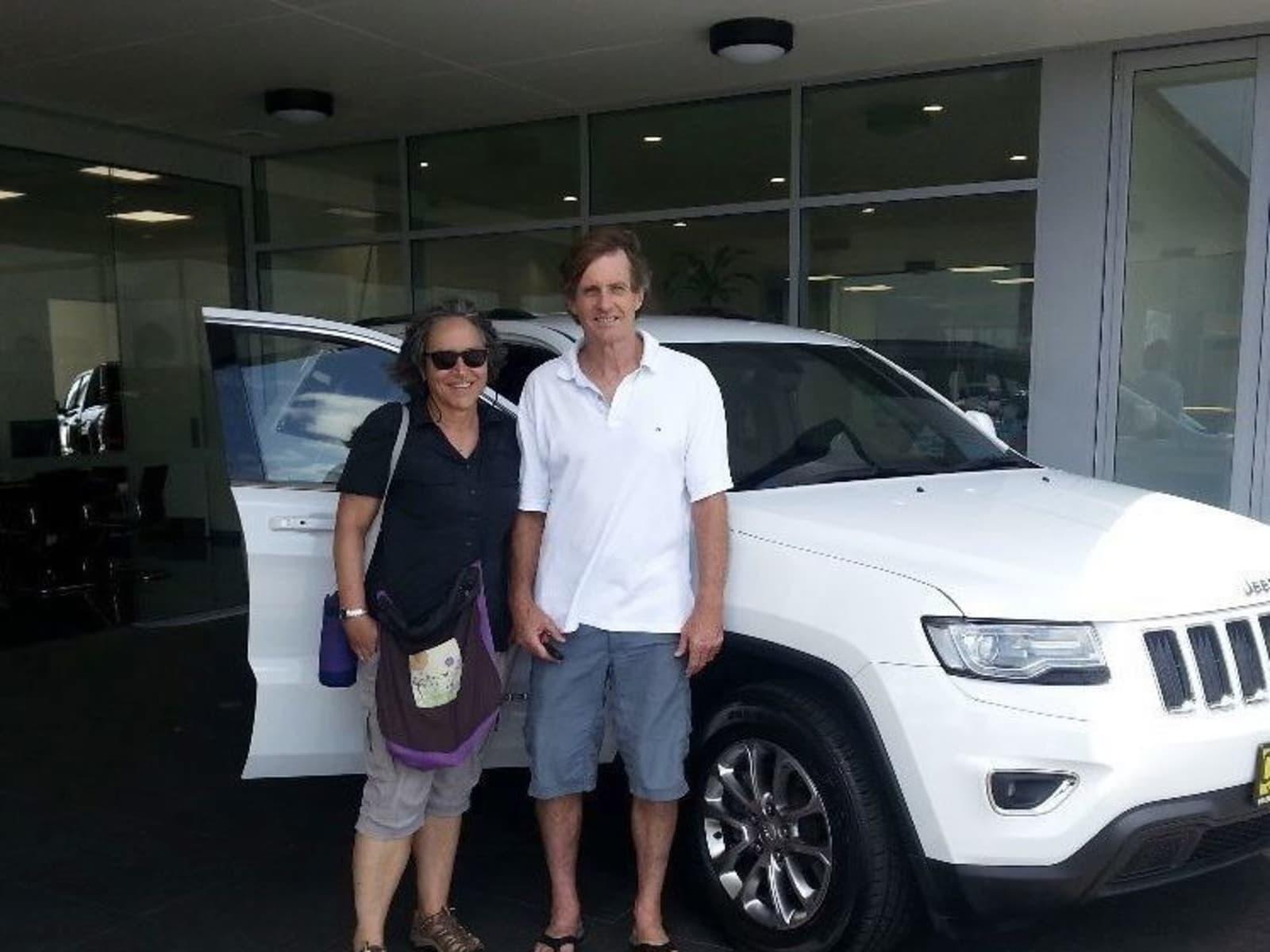 Kerrie & Tony from Cabarita Beach, New South Wales, Australia