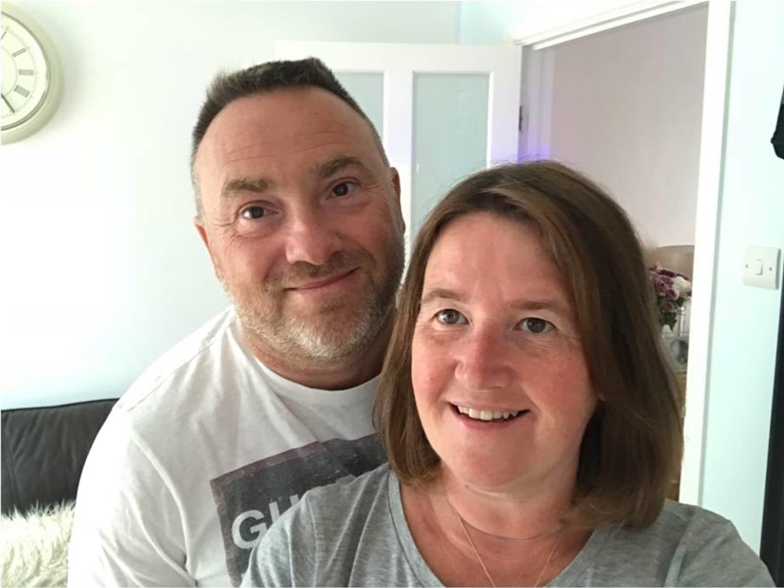 Angela & Greg from Swindon, United Kingdom