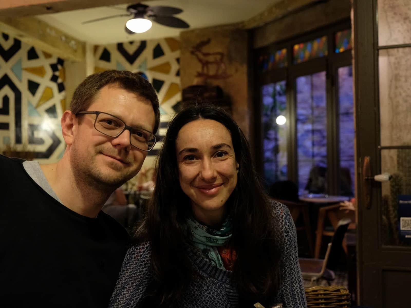 Manja & Mario from Brussels, Belgium