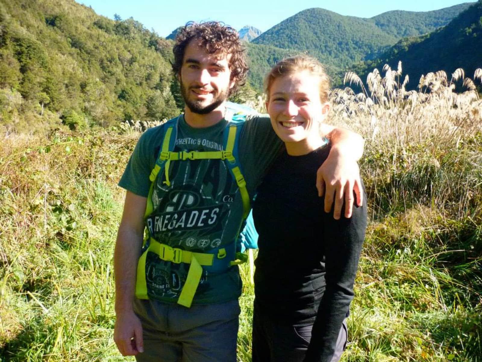 Emily & Sam from Wellington, New Zealand