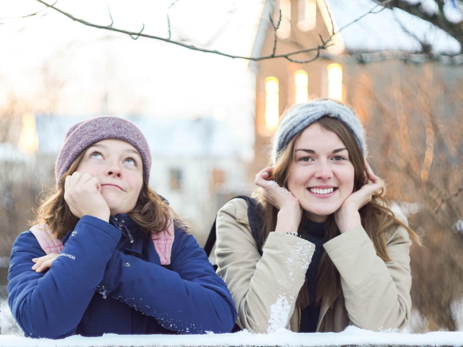 Maja & Anna from Reykjavík, Iceland