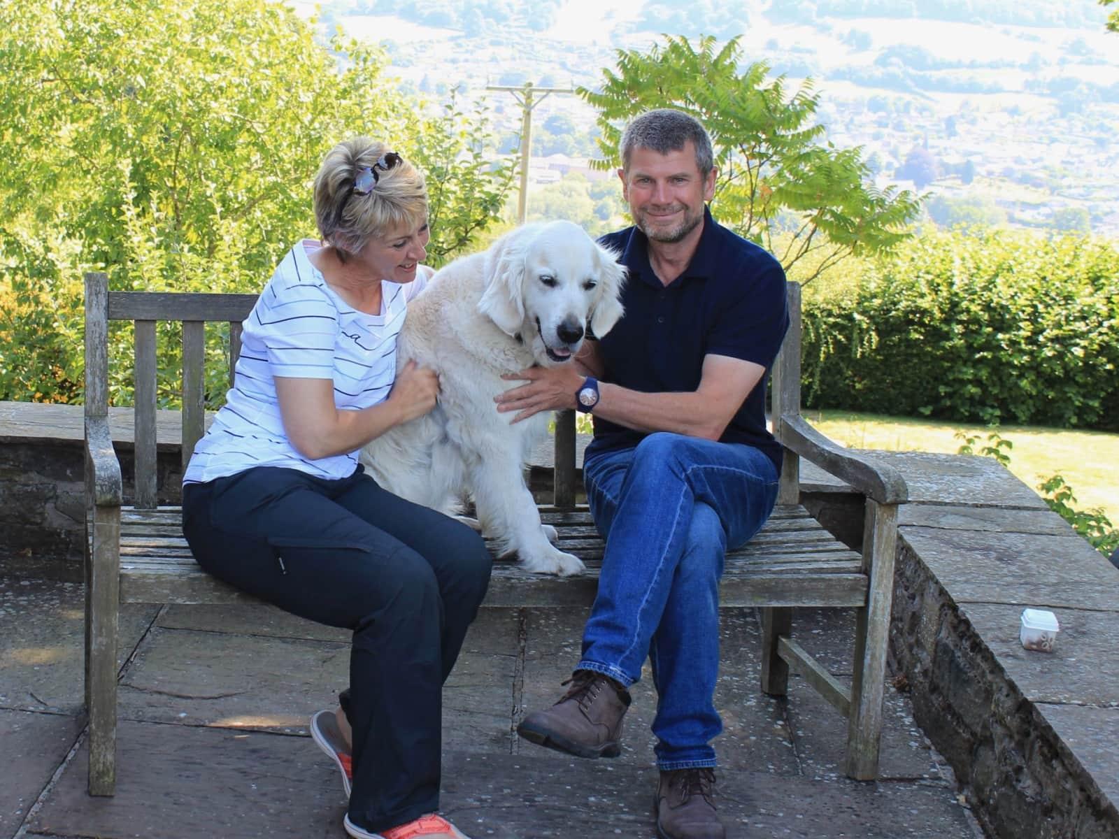 Mark & Jackie from Exeter, United Kingdom