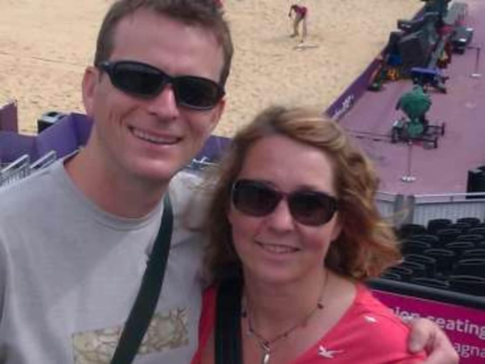 Kathrin & Harvey from Bristol, United Kingdom