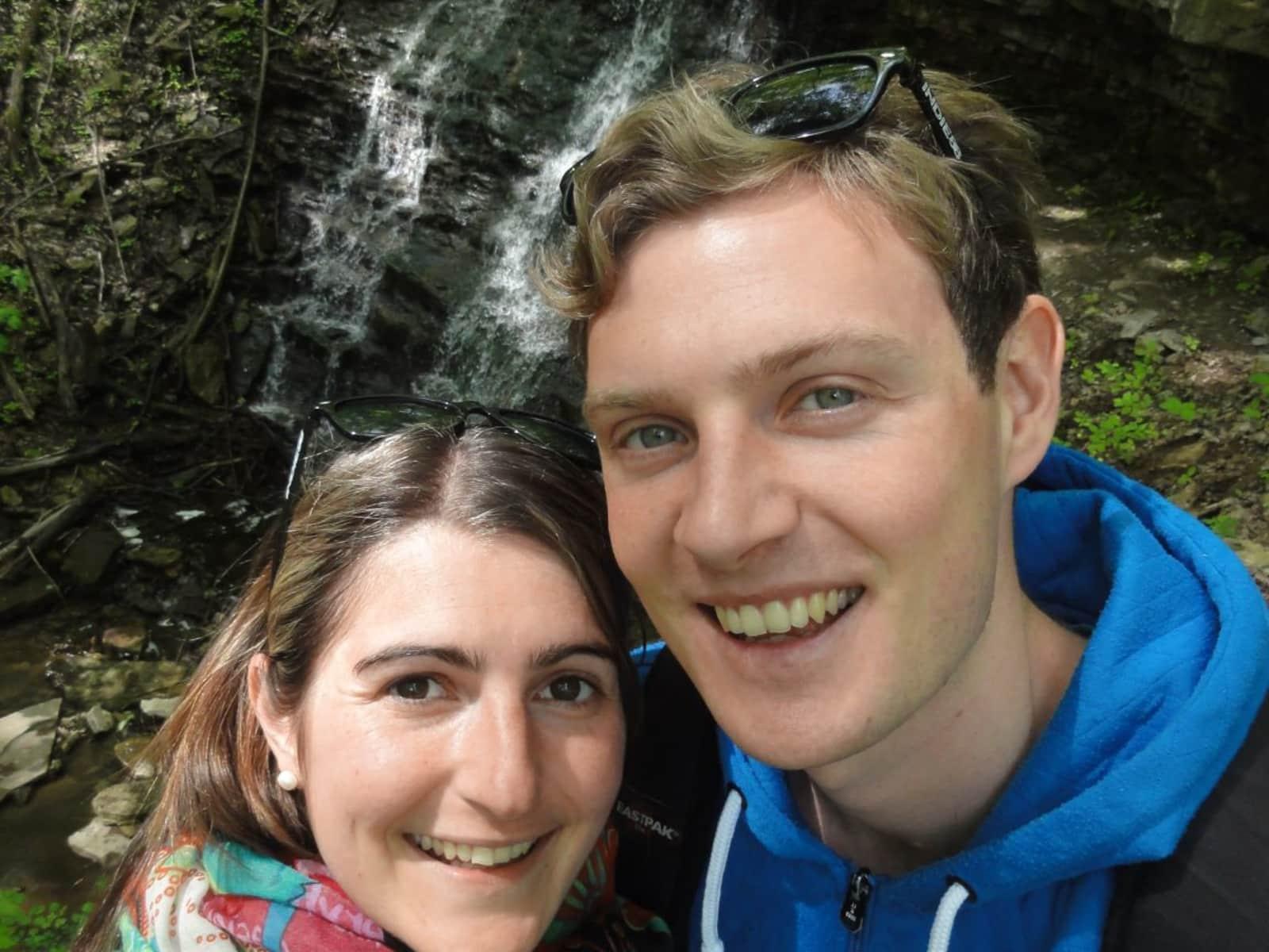 Melanie & Fabian from Aalen, Germany