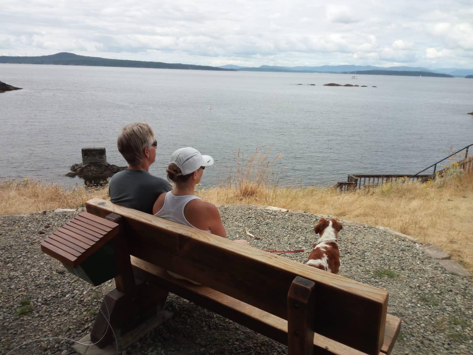 Housesitting assignment in Pender Island, British Columbia, Canada