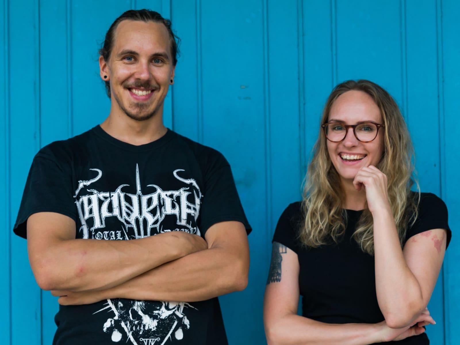Malla & Mikko from Helsinki, Finland