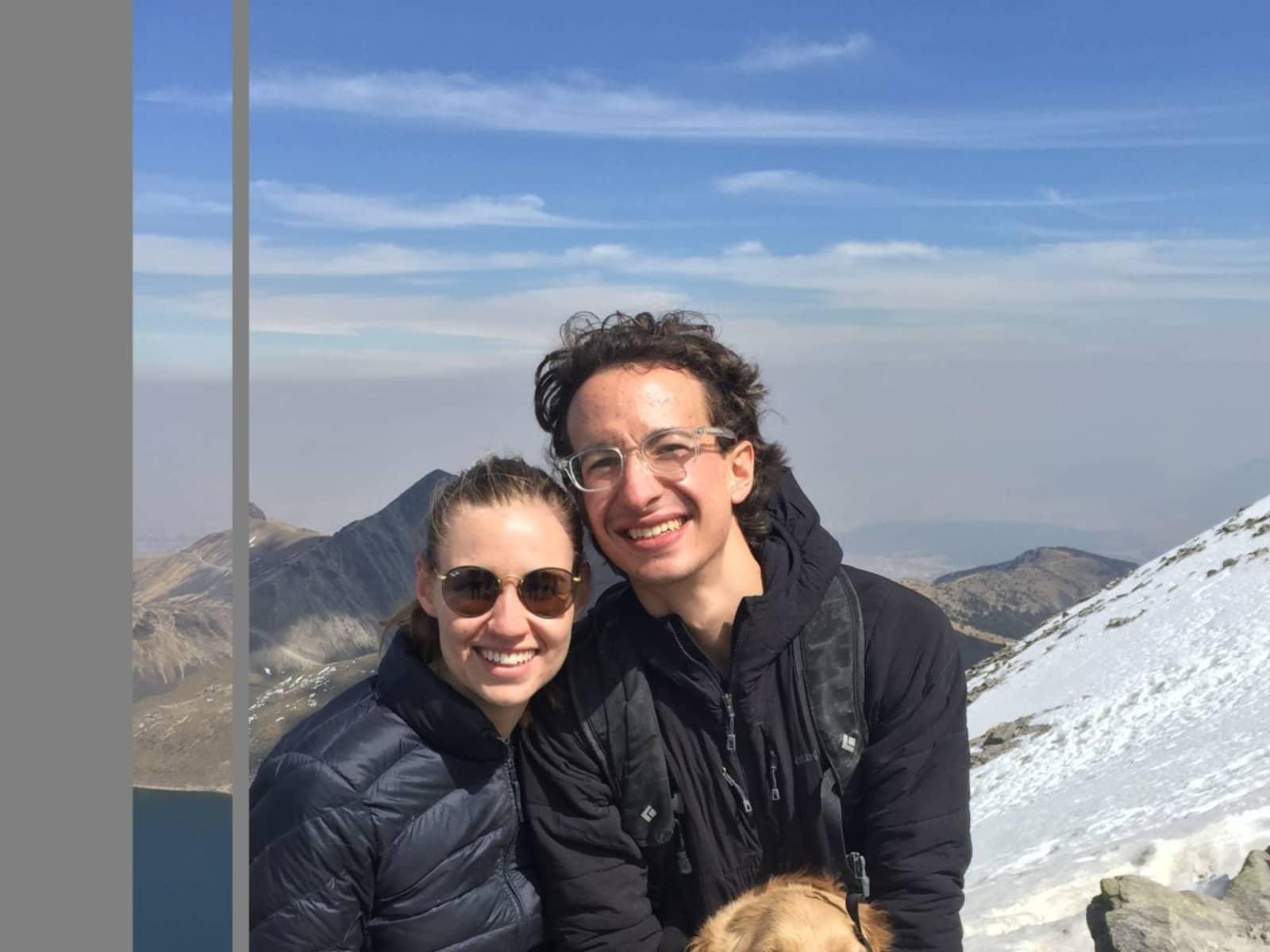 Michael & Dominique from Mexico City, Mexico
