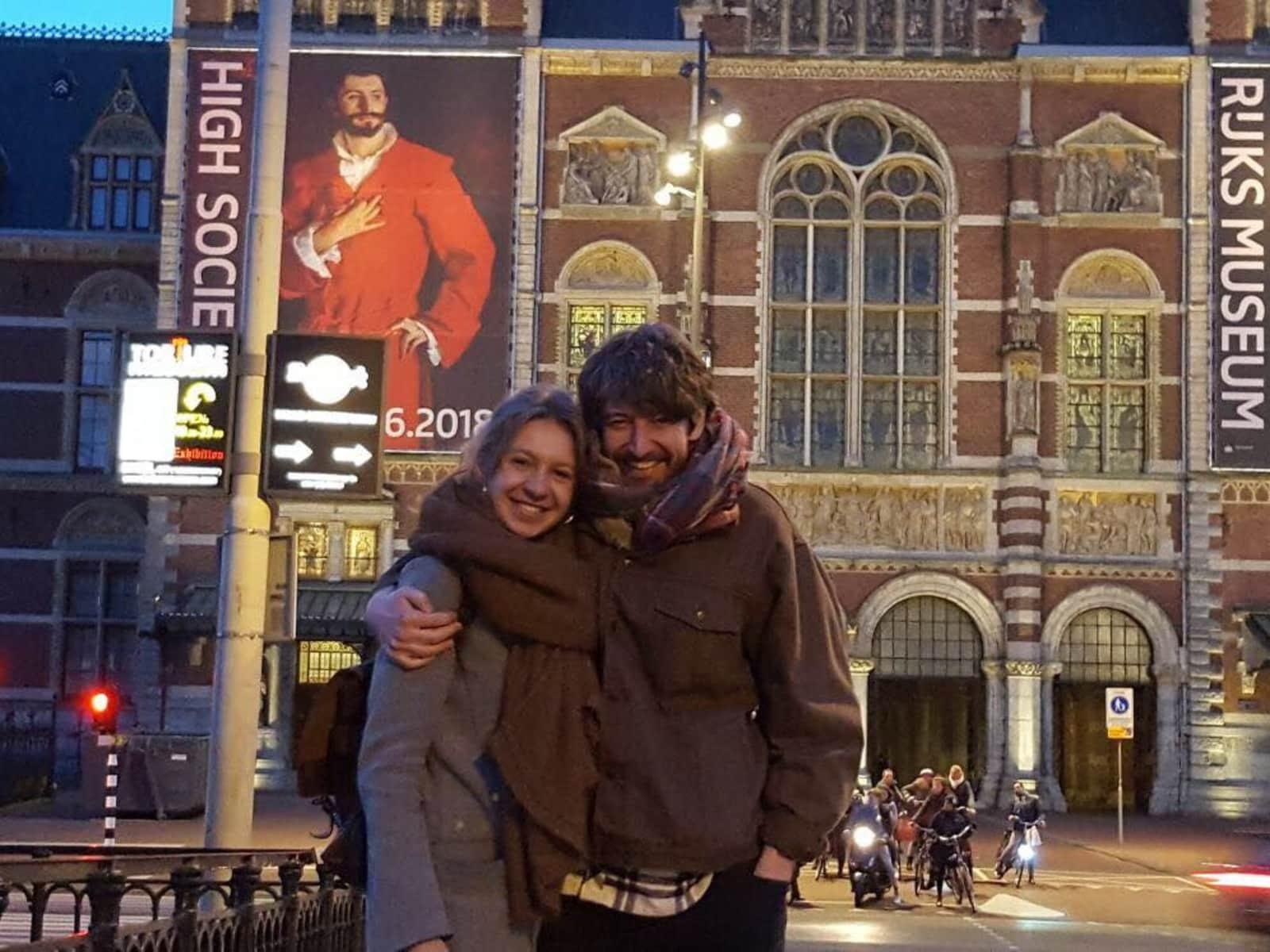 Ashley & Adrianna from London, United Kingdom