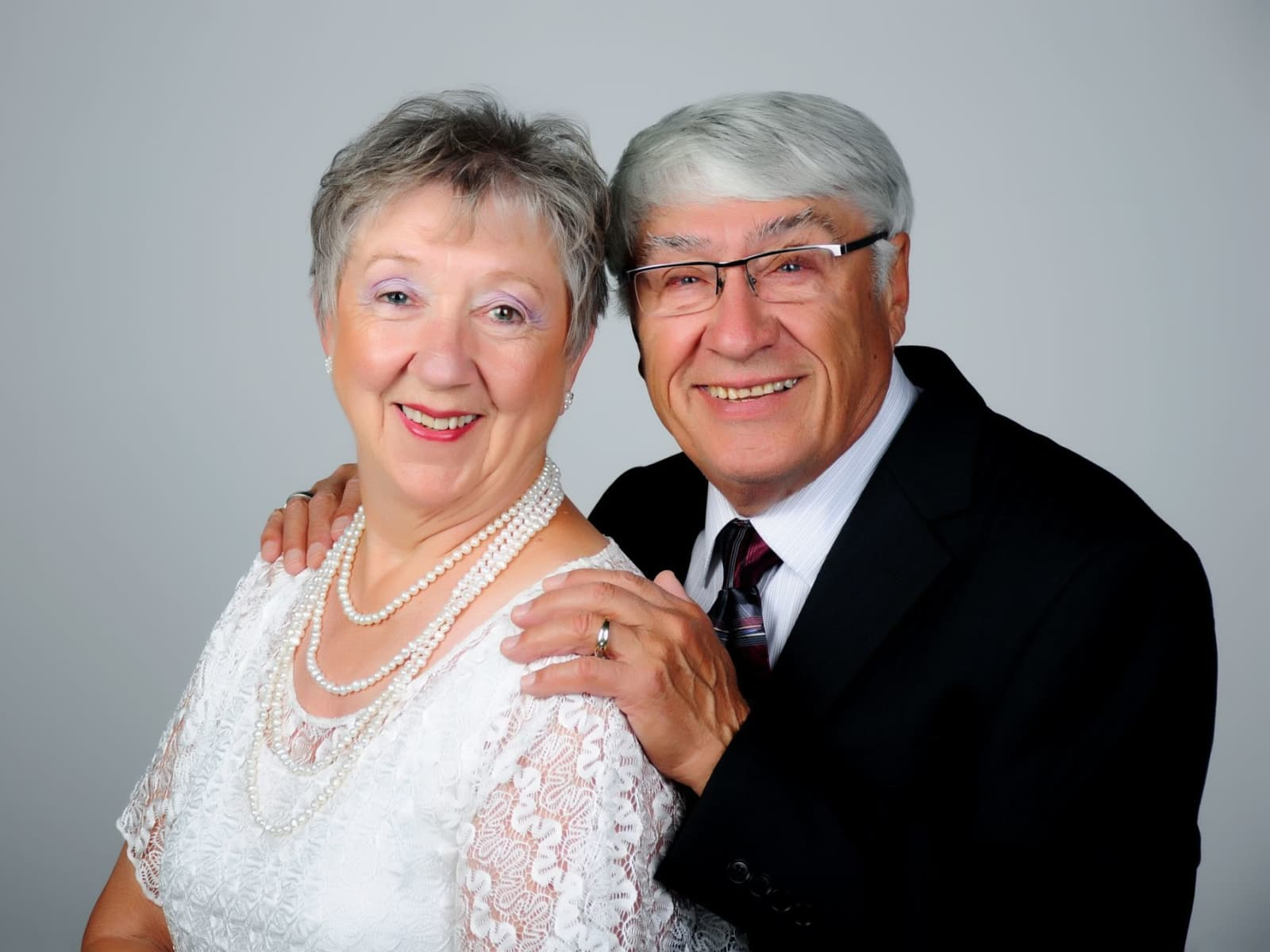 Lucien & Dorothy from Brooks, Alberta, Canada