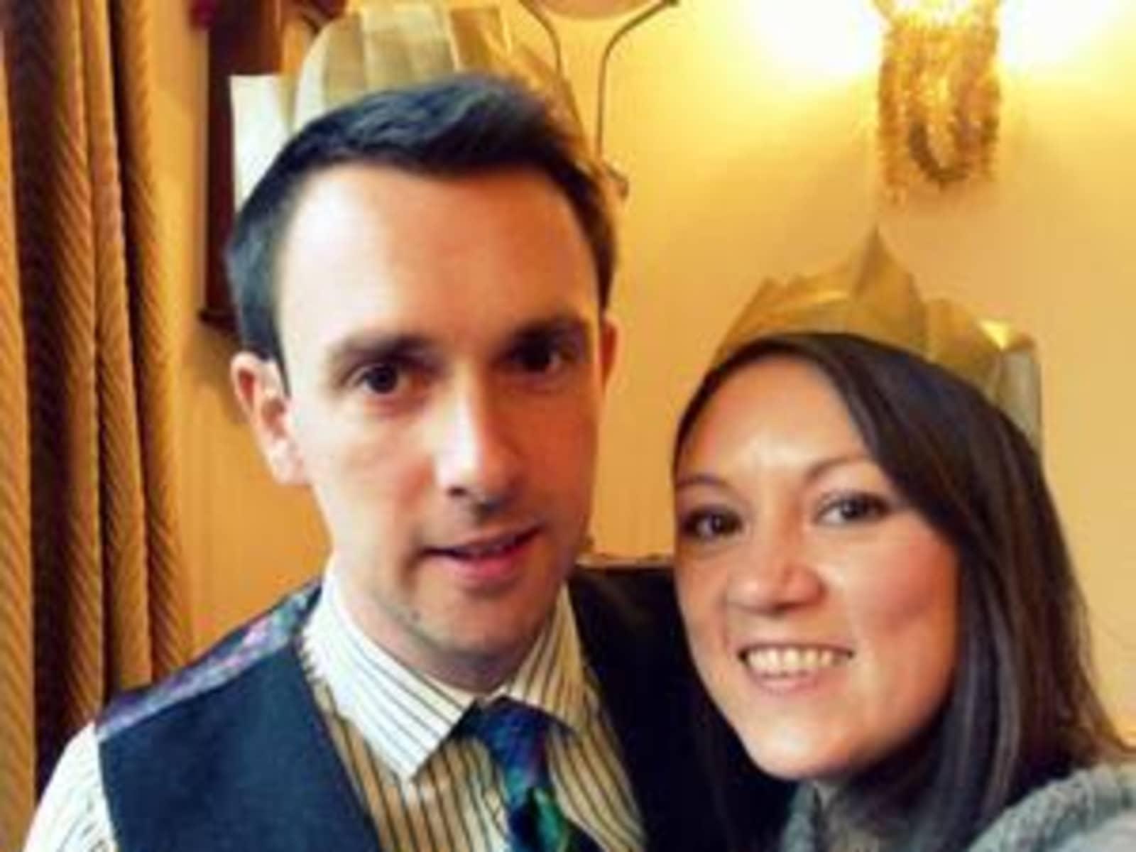 Caroline & Phil from Glasgow, United Kingdom