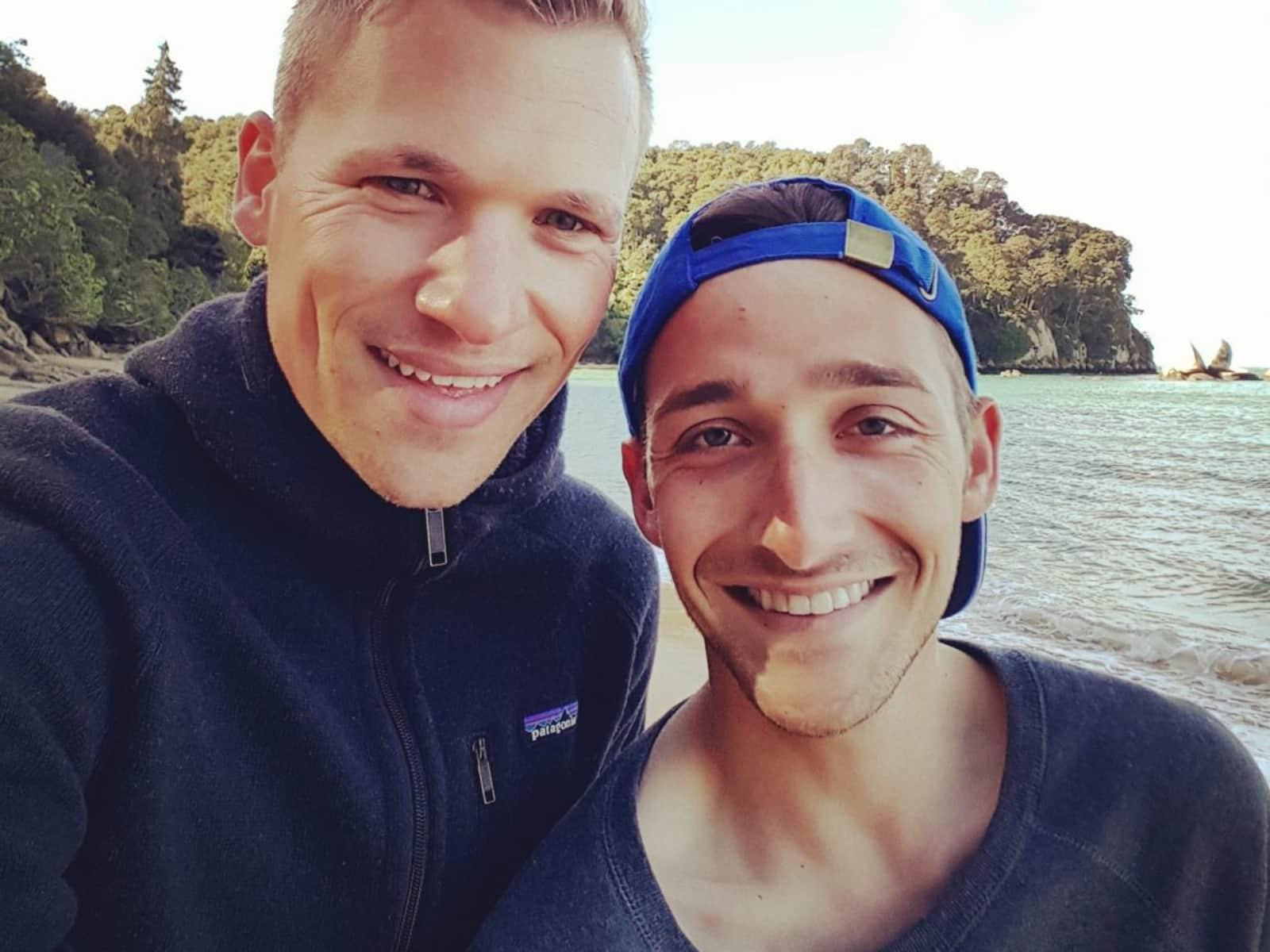 Marc & Derek from Berlin, Germany