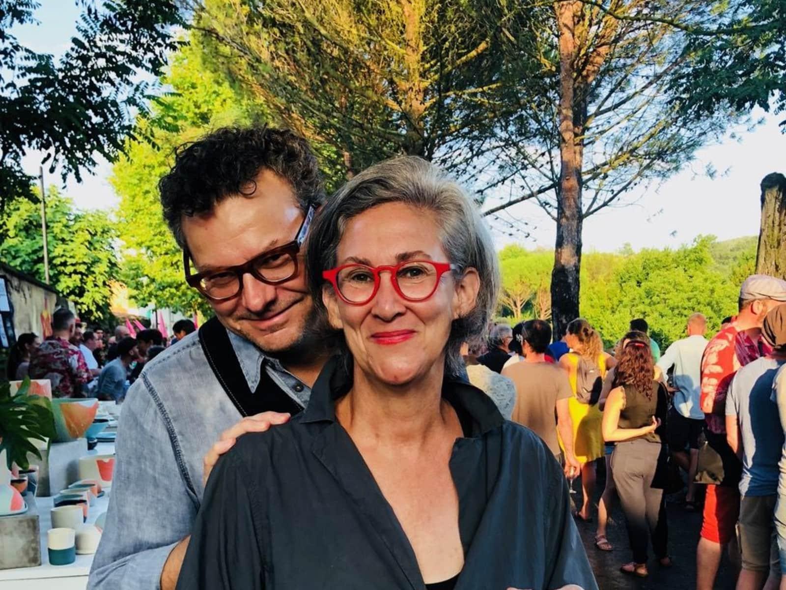 Mimi & Dan from Uzès, France
