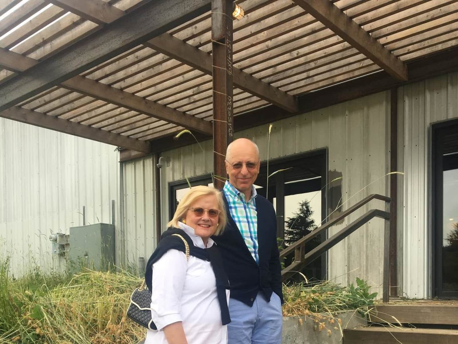 Tracy & Peter from The Dalles, Oregon, United States