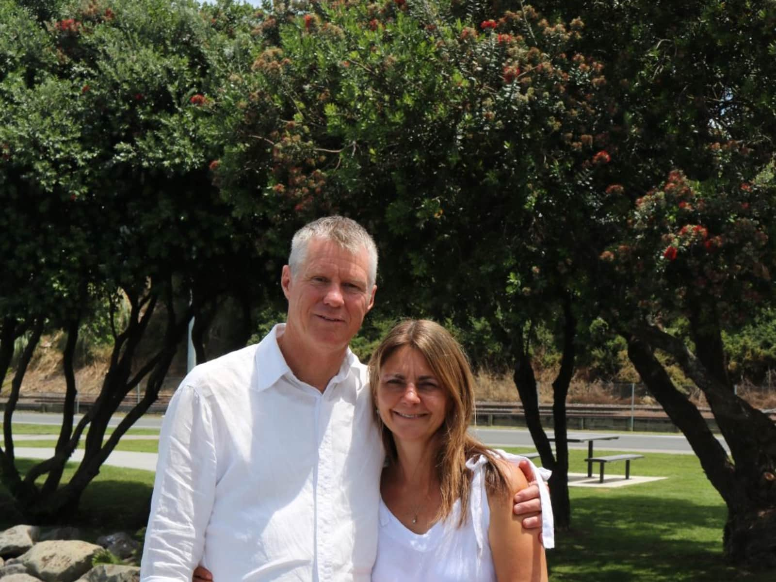 Andy (andrea) & Gary from Tauranga, New Zealand