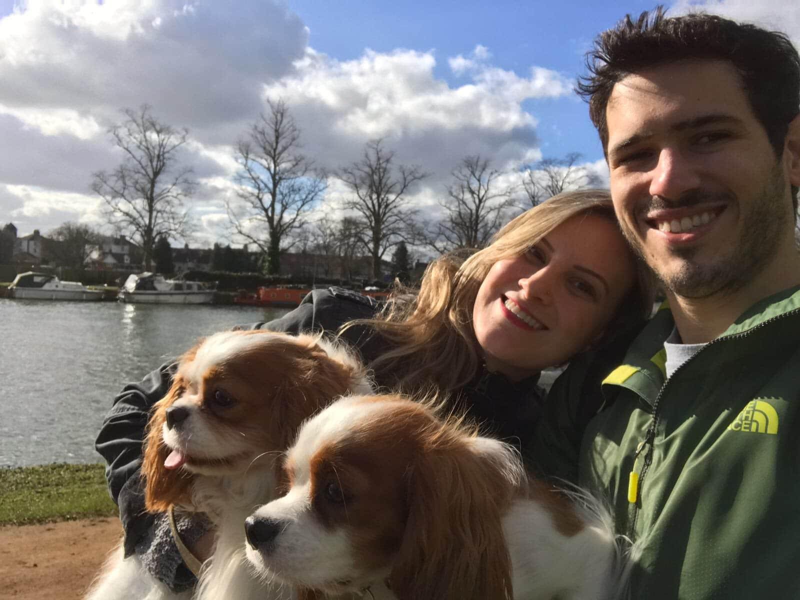 Gabriela & Fabio from London, United Kingdom