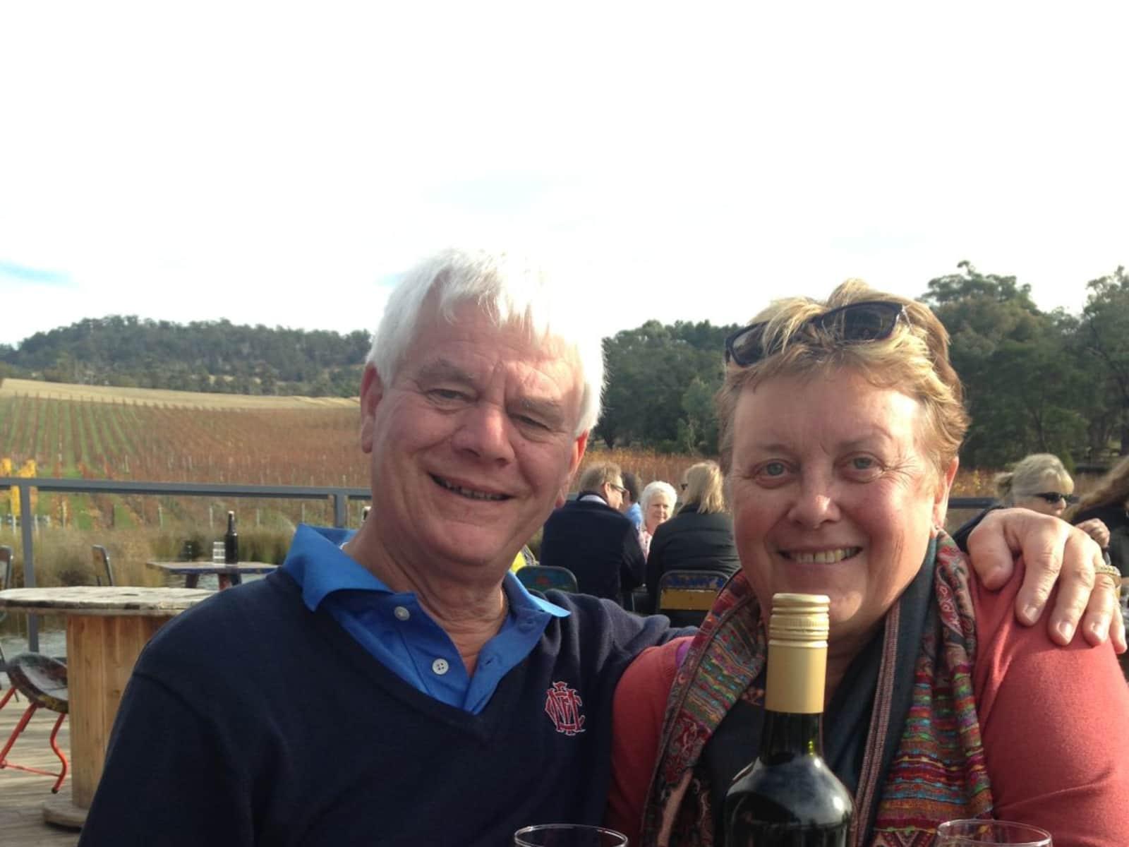 Sue-anne & Noel from Hobart, Tasmania, Australia