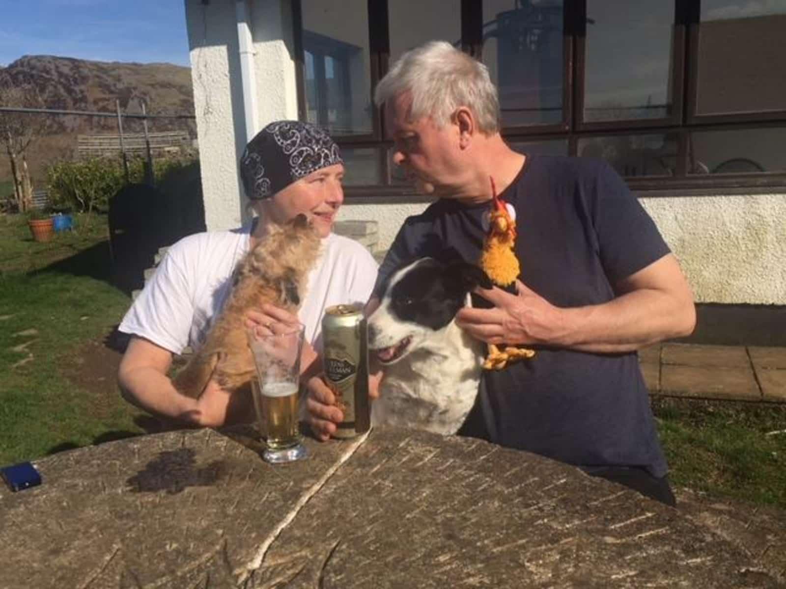 Sian & Hugh from Pwllheli, United Kingdom