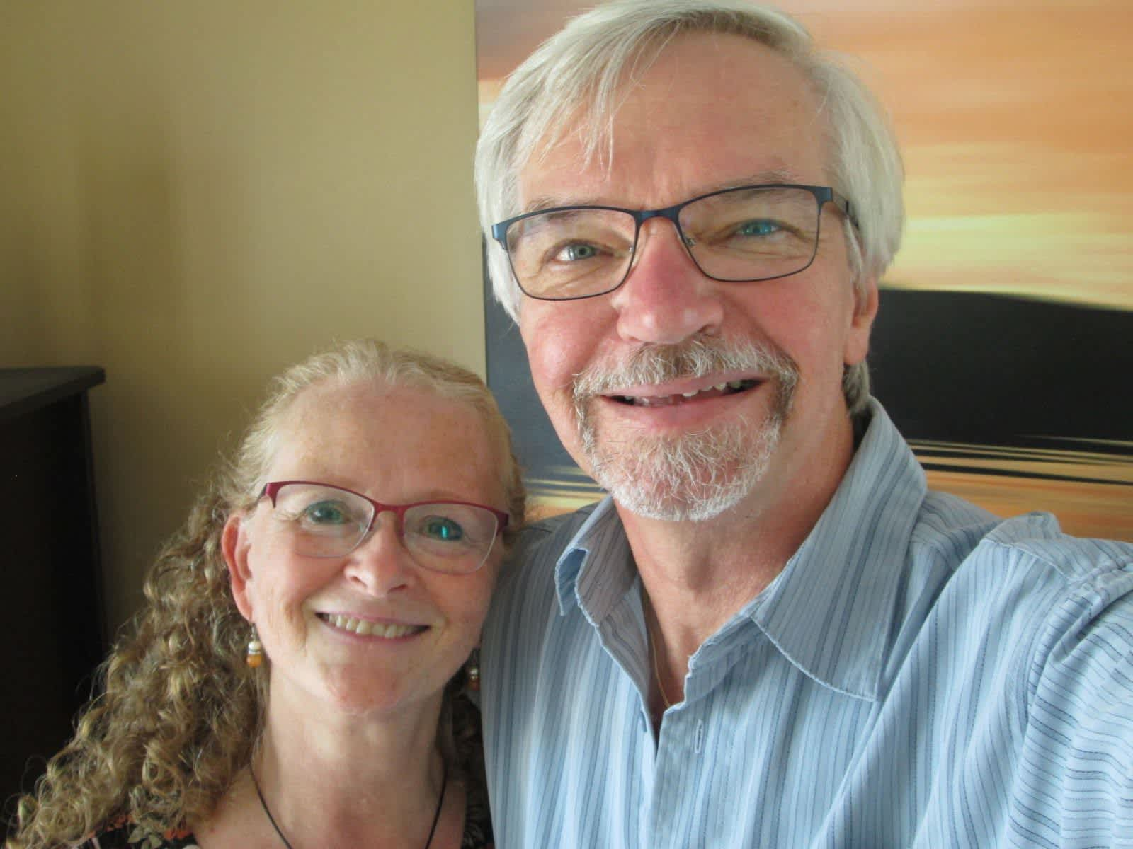 Carol & Lawrence from Halifax, Nova Scotia, Canada