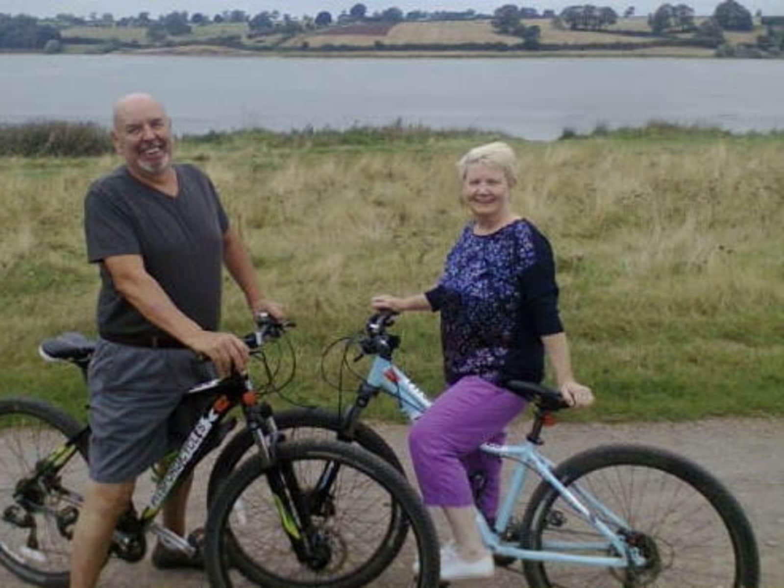 June & Richard from Northampton, United Kingdom