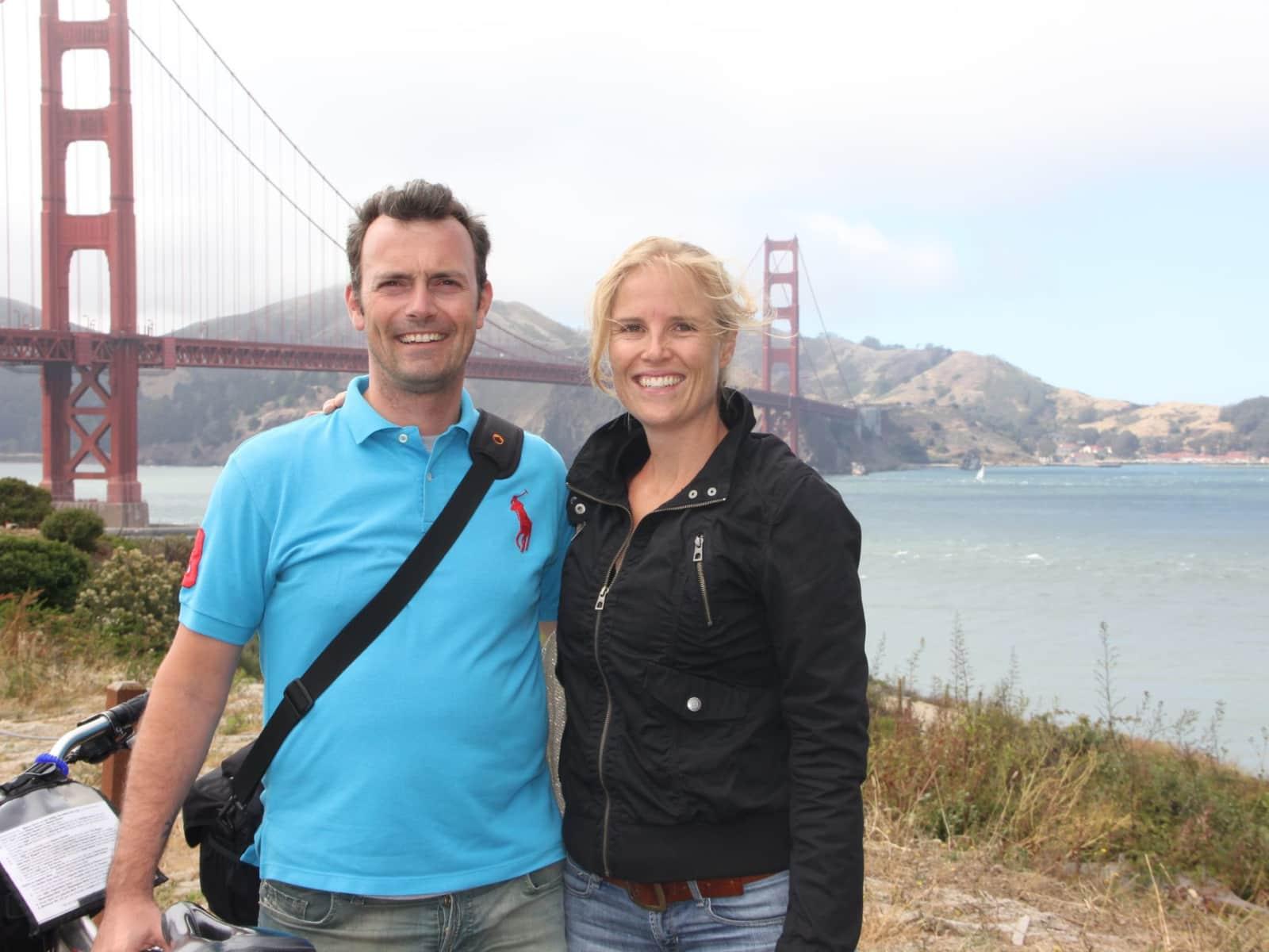 John-frederick & Micheline from Dubai International Financial Centre, United Arab Emirates