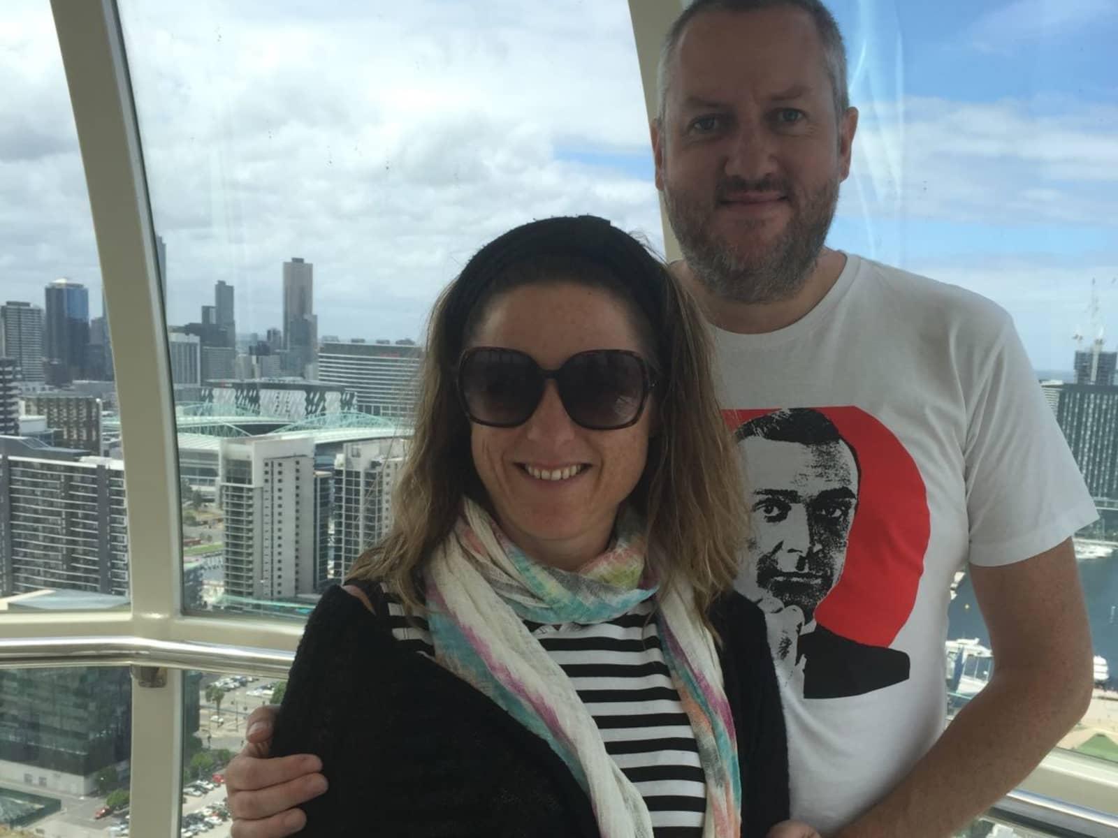 Stuart & Rachel from Saratoga, New South Wales, Australia