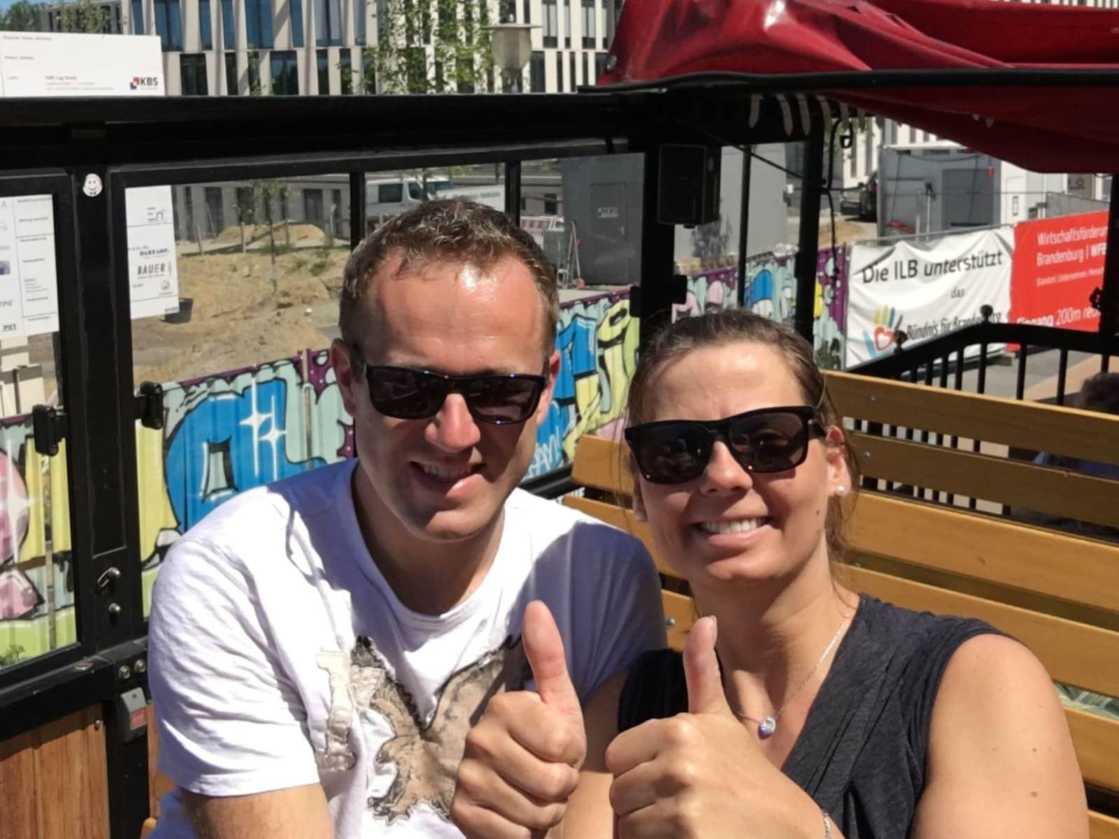 Markus & Gabriela from Bremen, Germany