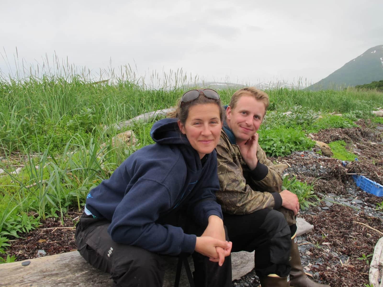 Mary beth & Nathaniel from Kodiak, Alaska, United States