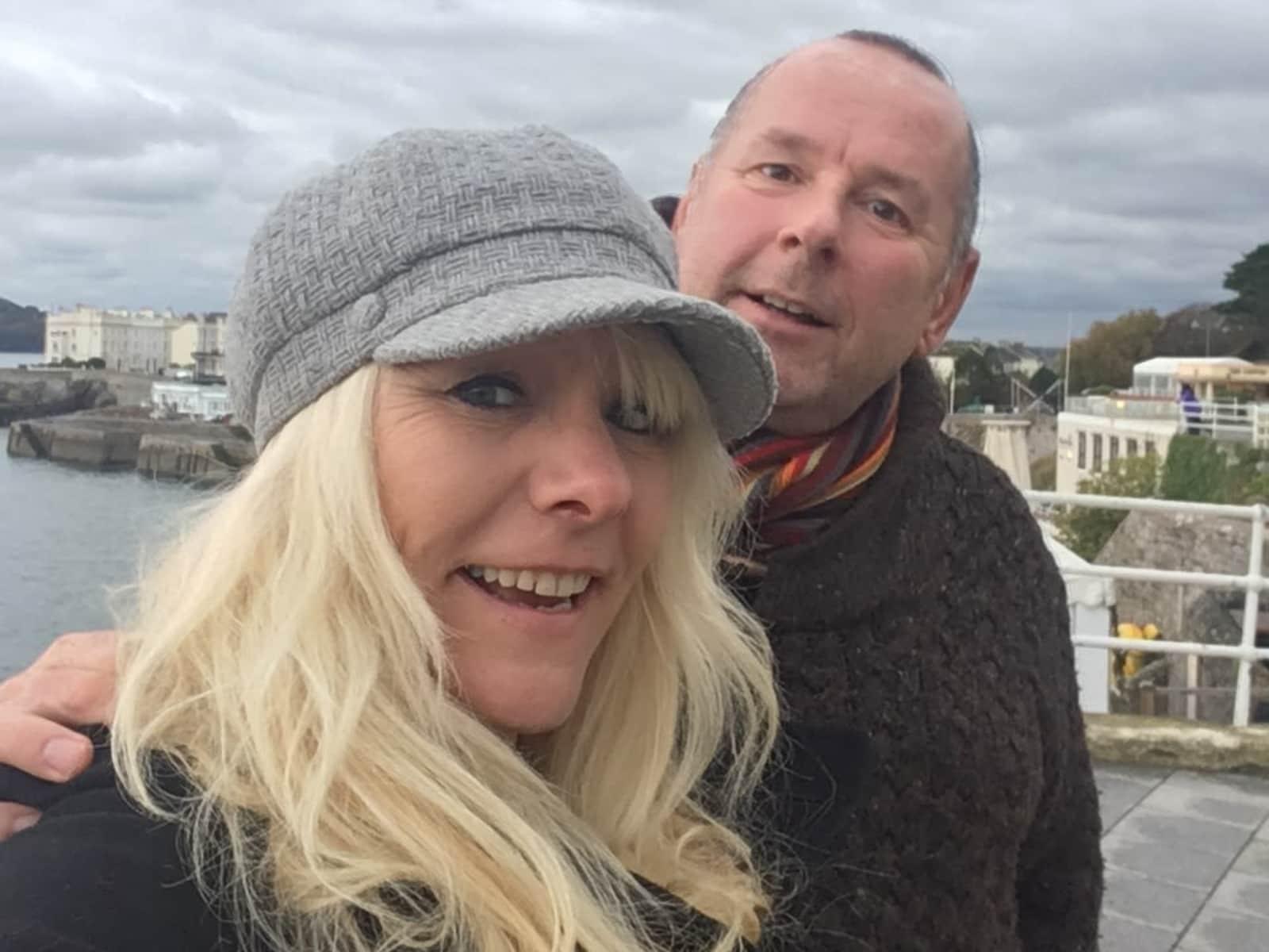 Leeann & Nigel from Pontypridd, United Kingdom