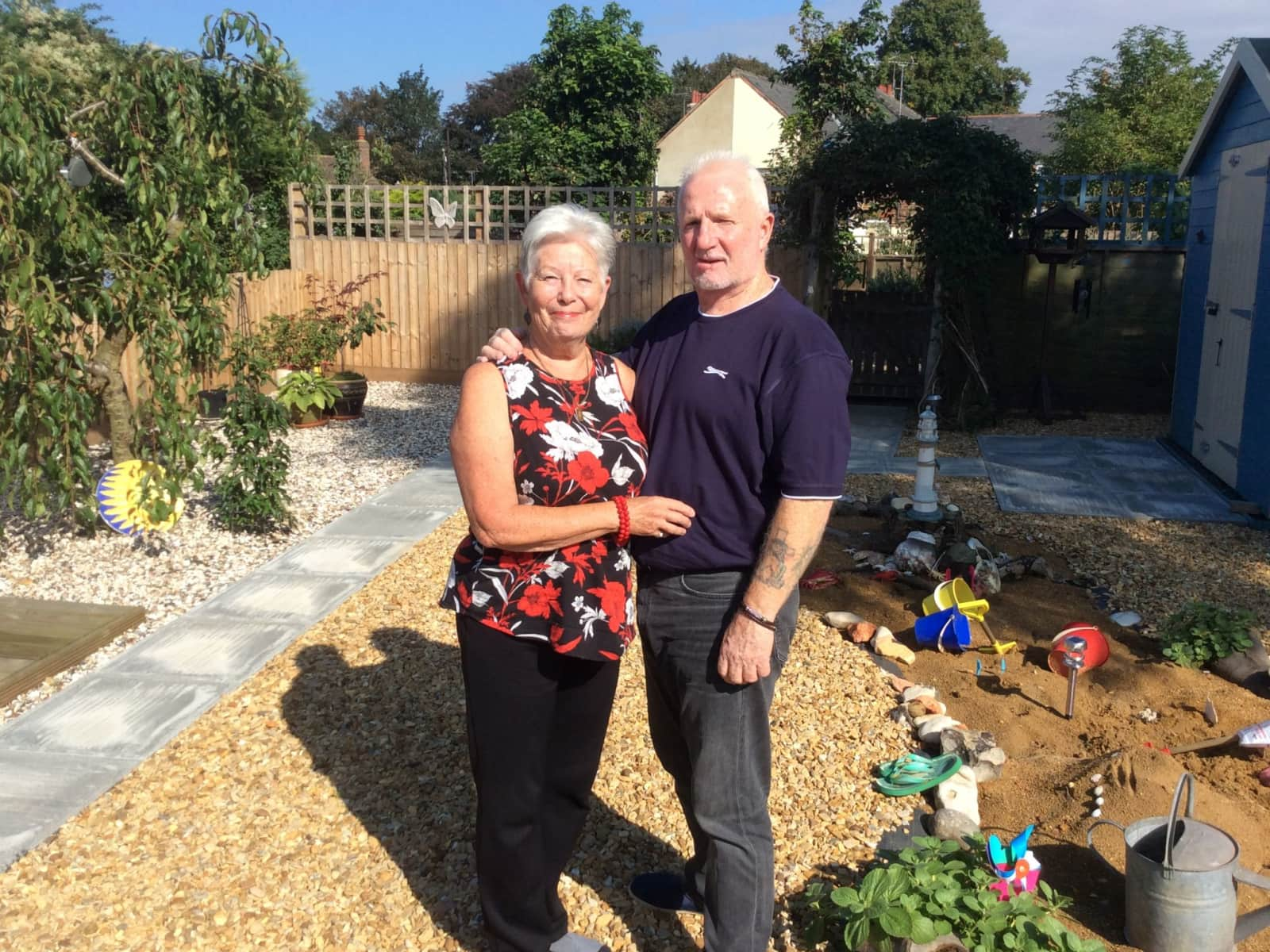 Christina & Dennis from Holbeach, United Kingdom