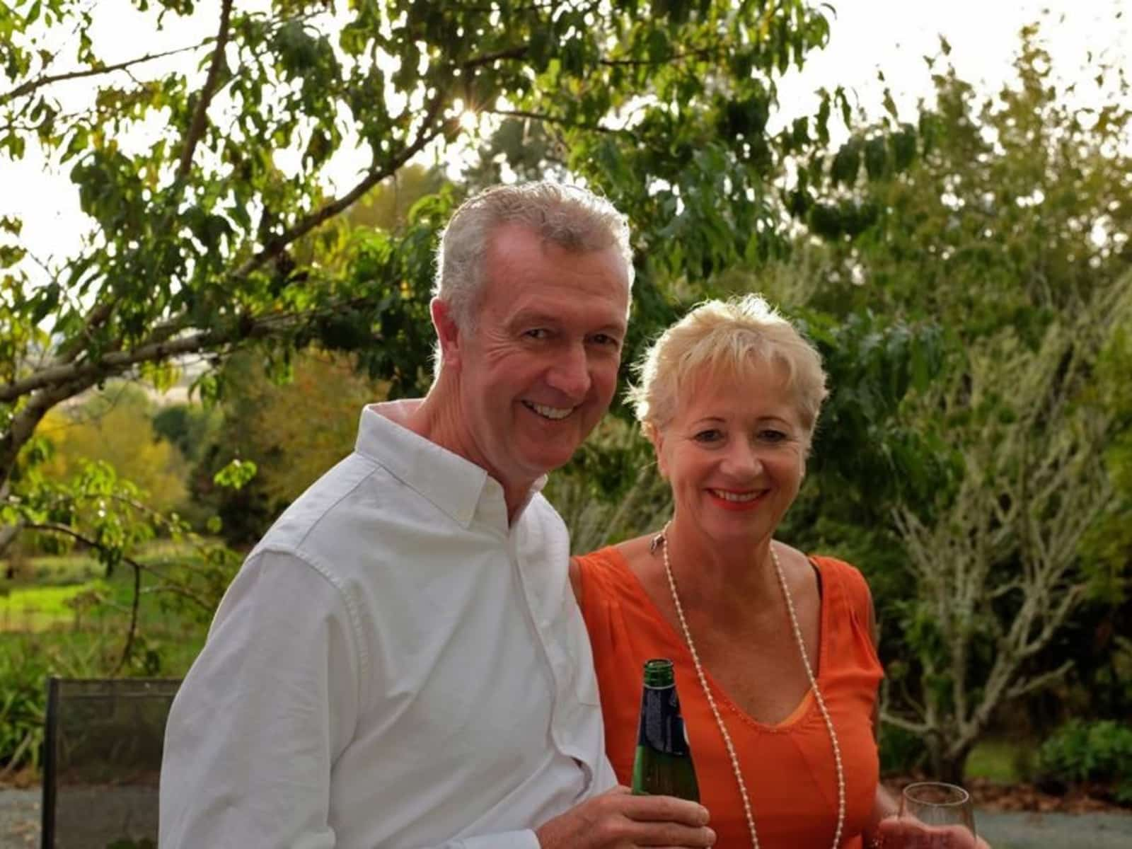 Di & Gordon from Auckland, New Zealand