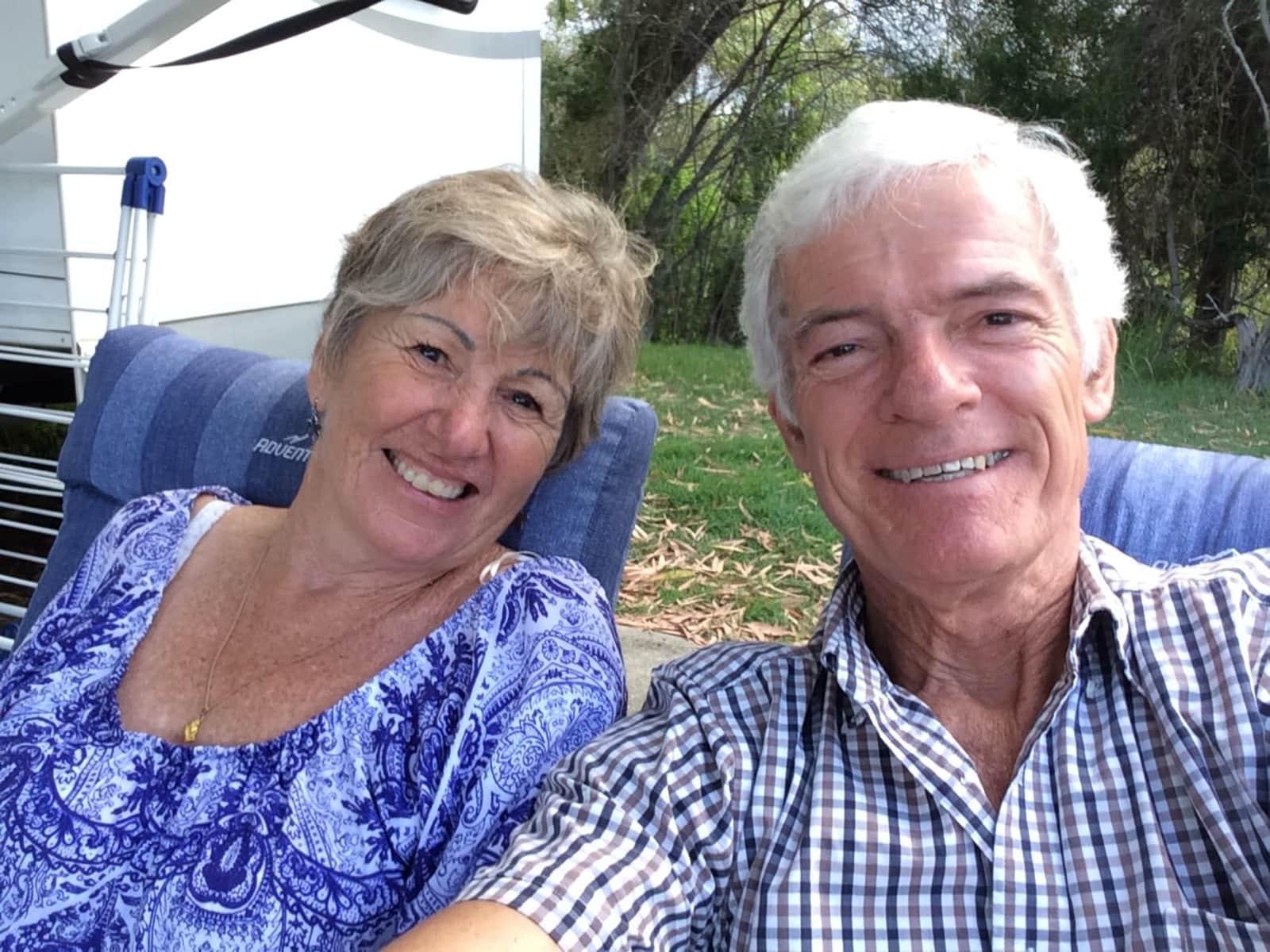 Marilyn & John from Brisbane, Queensland, Australia