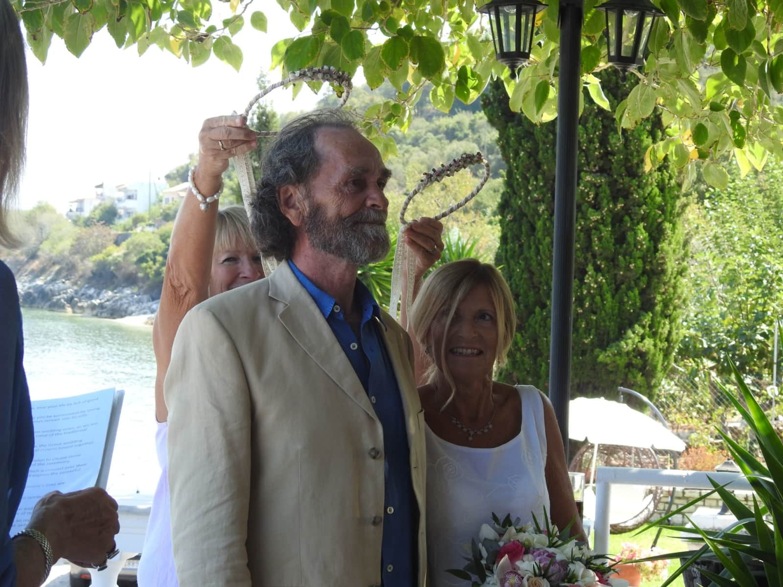 Gareth & Christine from Kérkyra, Greece