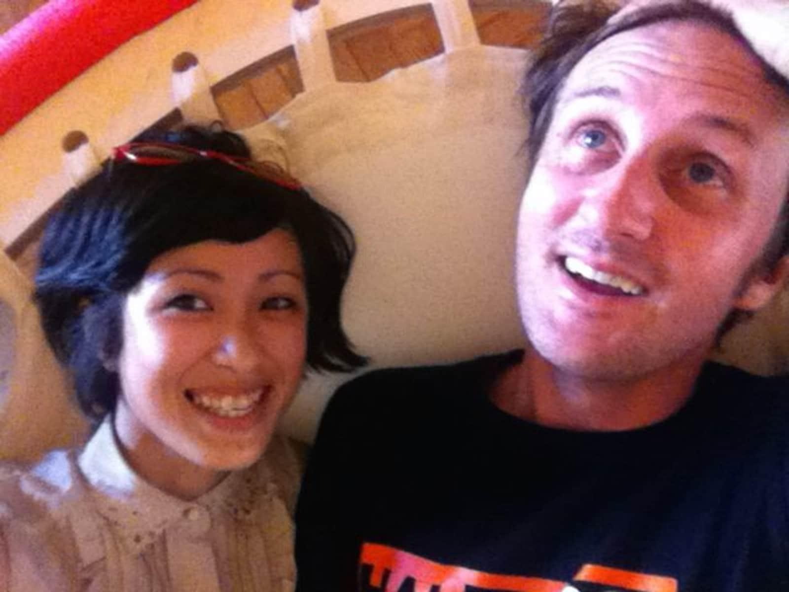 Jenni & John from Rome, Italy