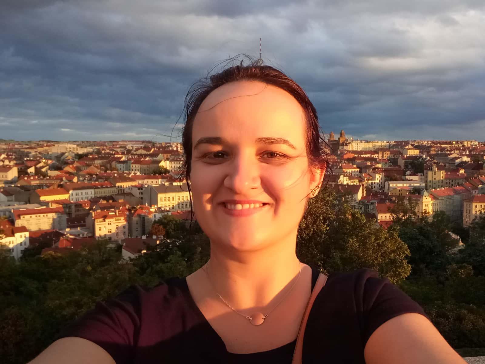 Corina from Prague, Czech Republic