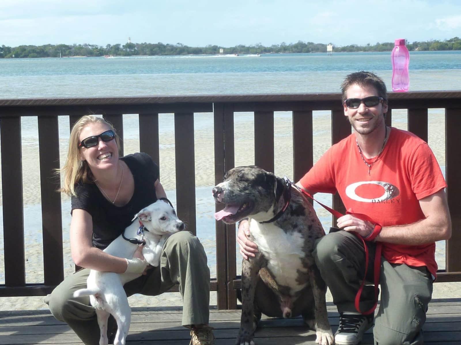 Gemma & Will from Hokitika, New Zealand