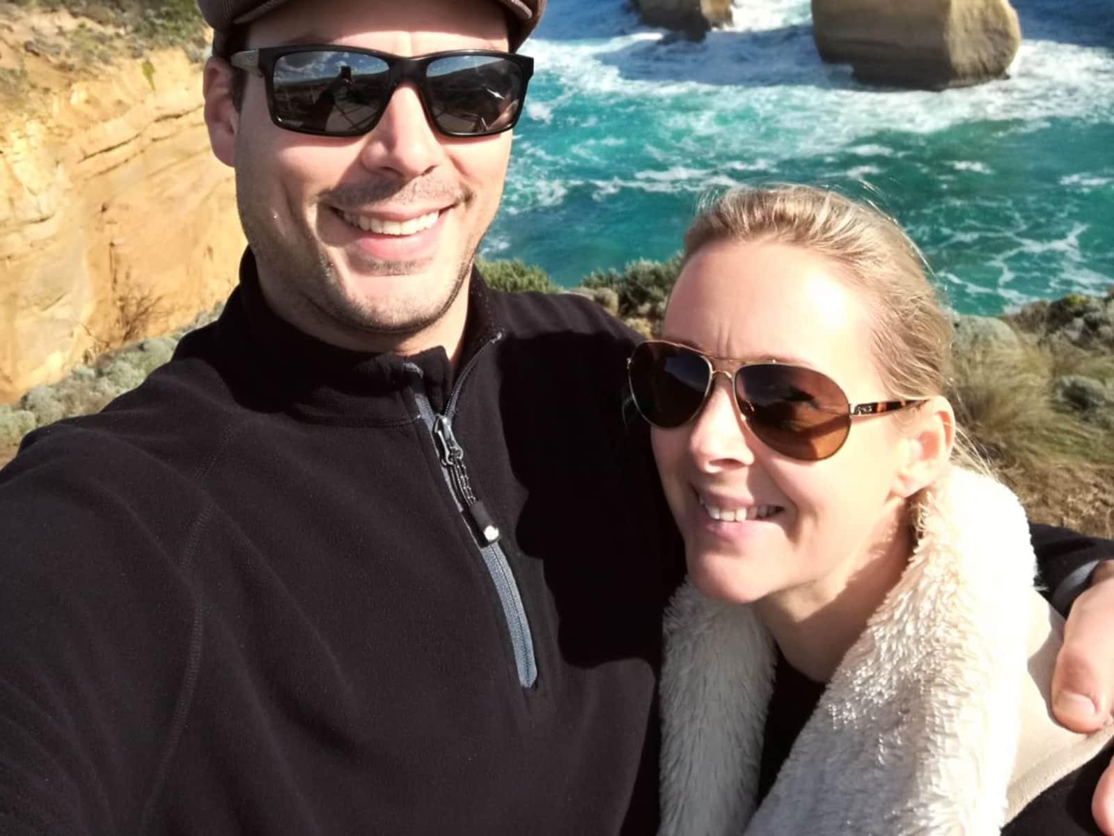 Louise & Ben from Melbourne, Victoria, Australia
