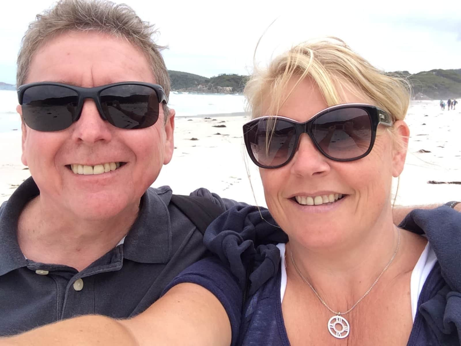 Tricia & Ken from London, United Kingdom