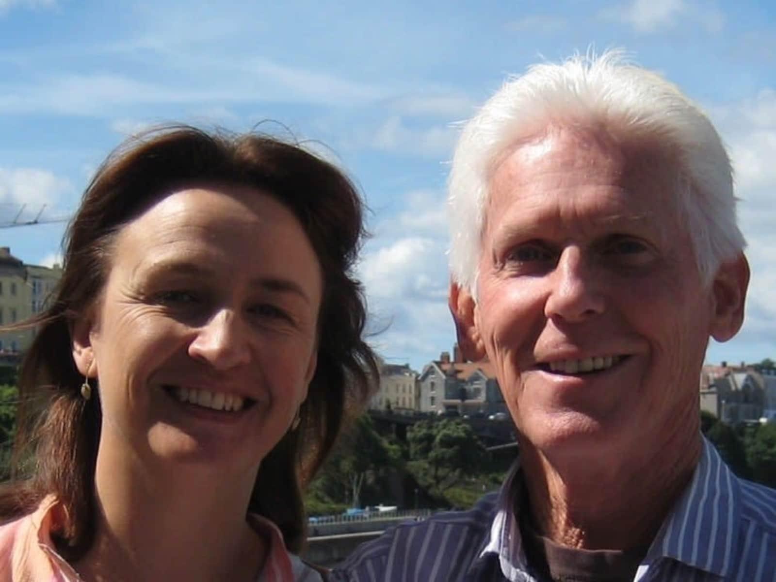 Lisa & David from Findhorn, United Kingdom