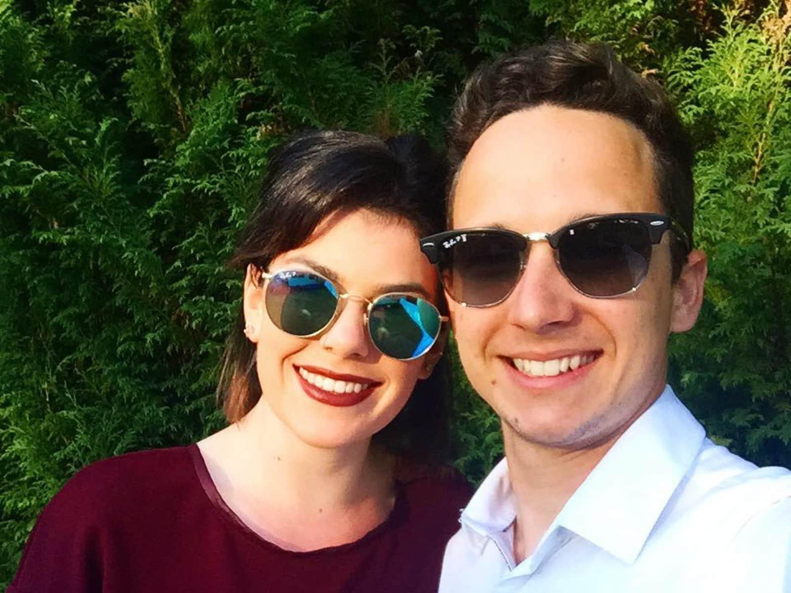 Siobhan & Jordan from Sydney, New South Wales, Australia