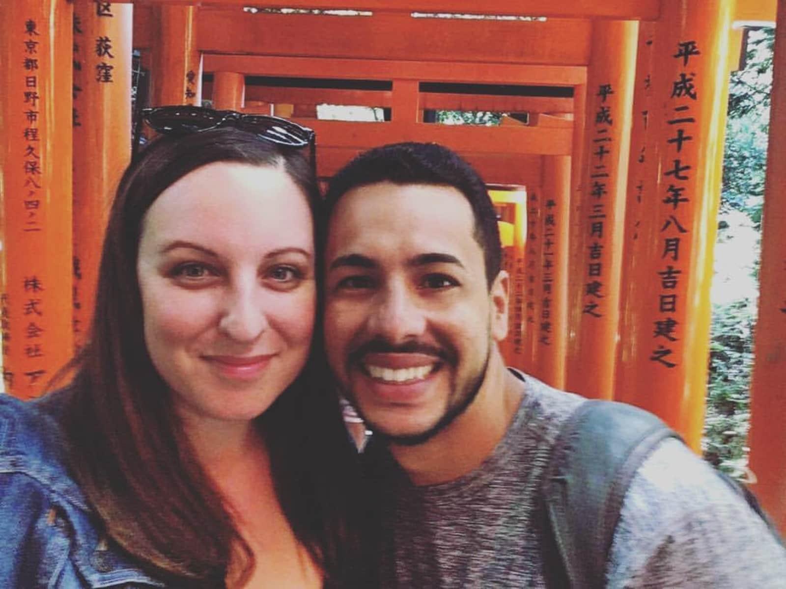 Charity & Amauri from Orlando, Florida, United States