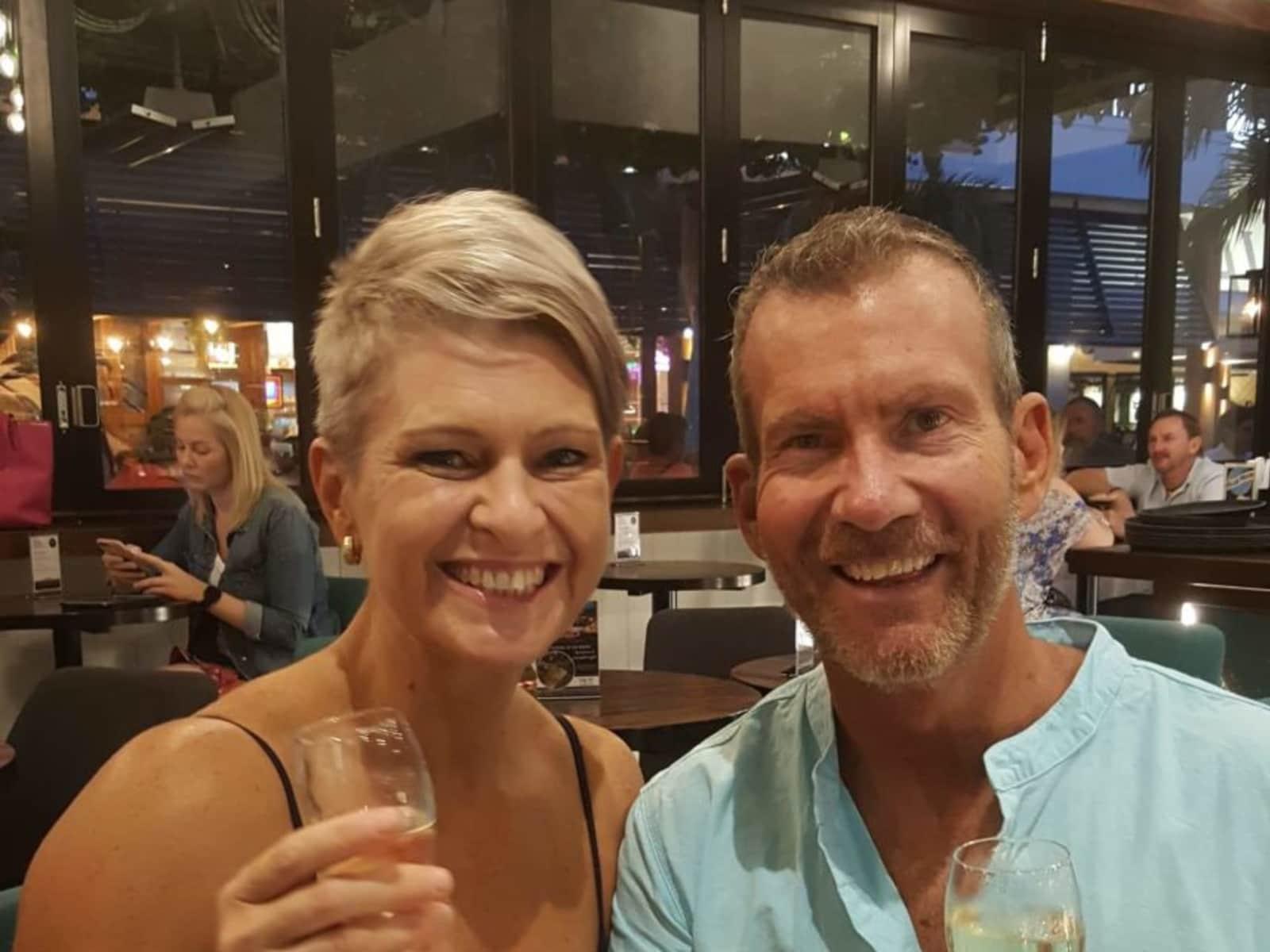 Martin & Roxanne from Brisbane, Queensland, Australia