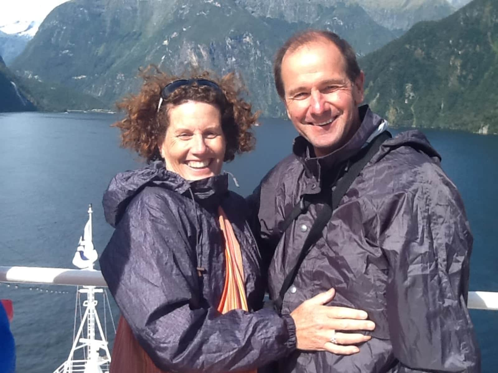 Wendy & John from Melbourne, Victoria, Australia