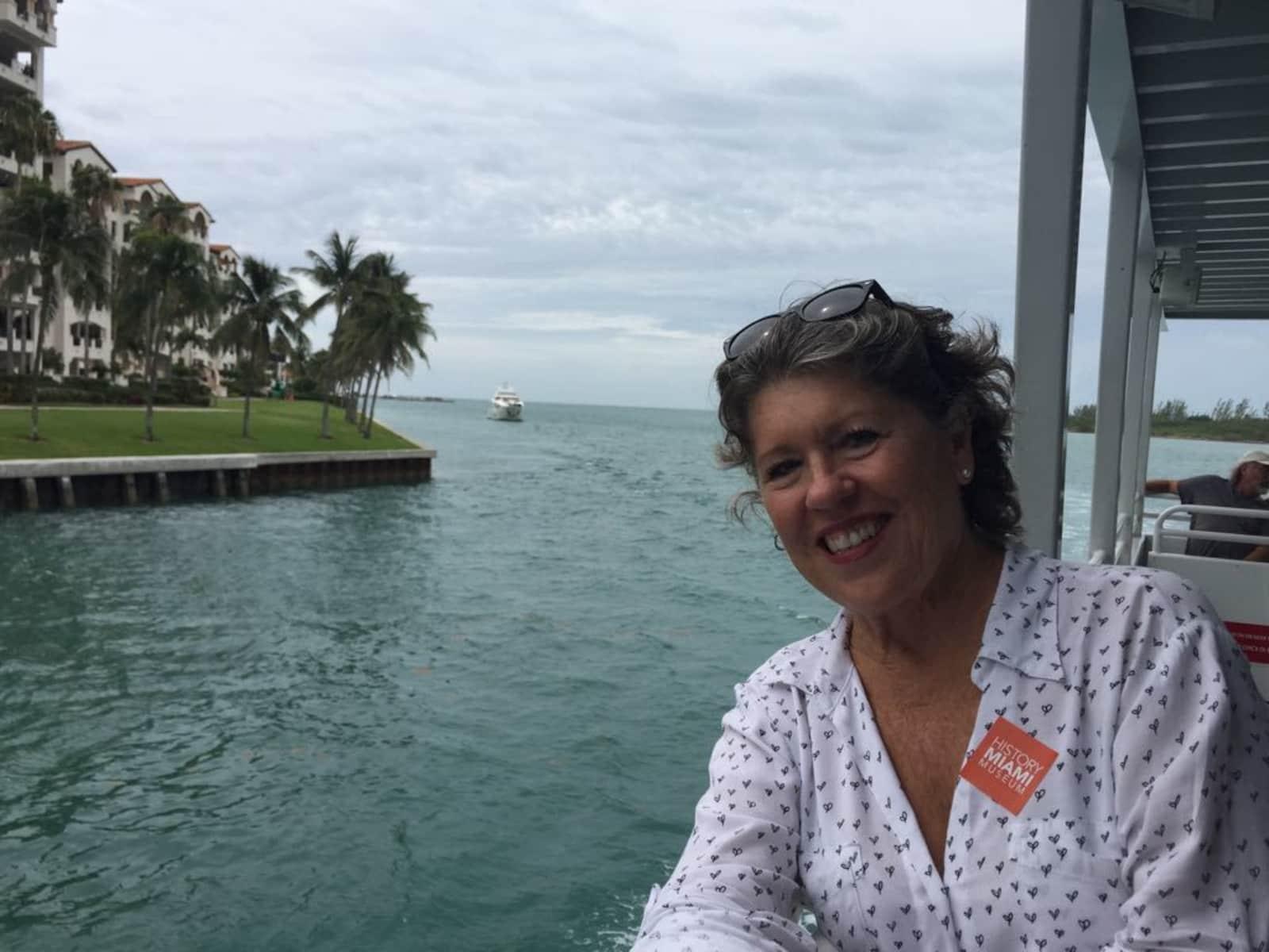 Sharon from Miami, Florida, United States