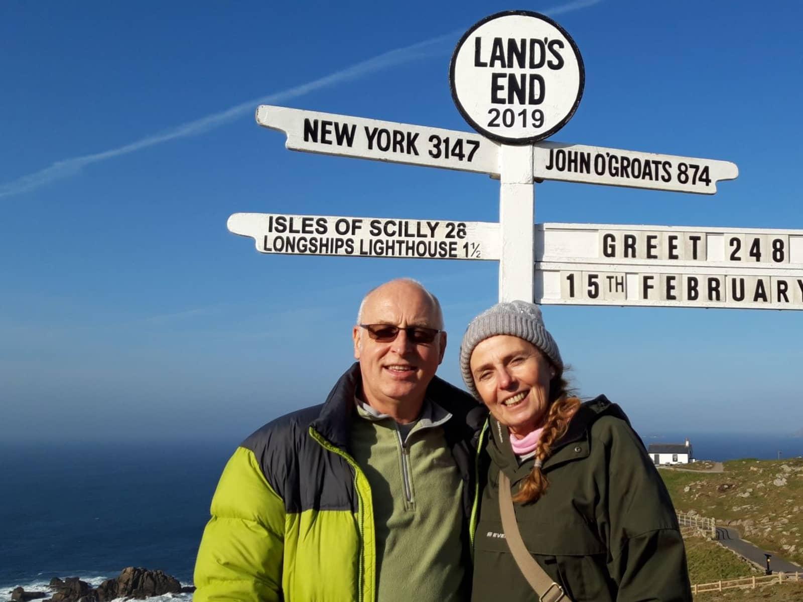 Sally & Geoff from Winchcombe, United Kingdom
