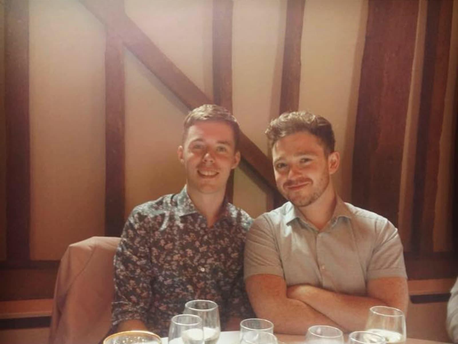 Ciaran & Jacob from Sydney, New South Wales, Australia