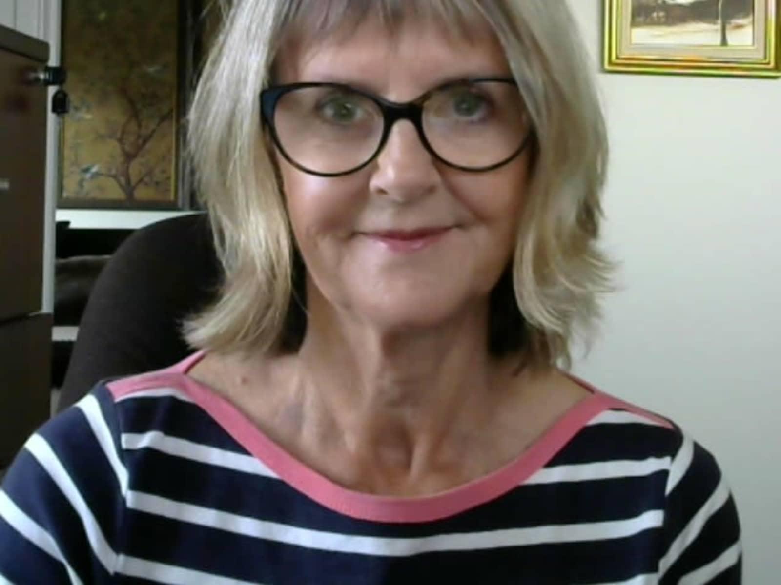 Gillian from Melbourne, Victoria, Australia