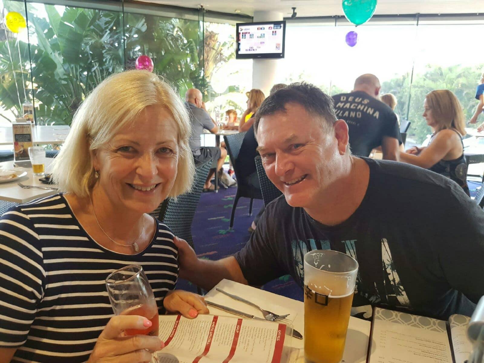 Michael & Lynn from Raceview, Queensland, Australia