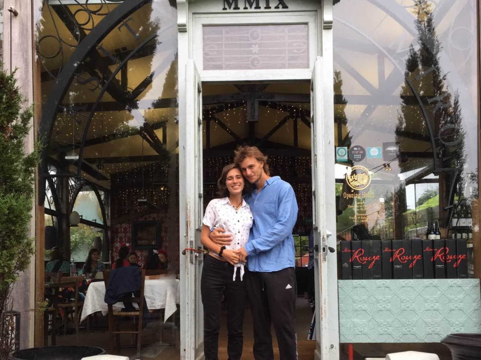 Martin & Federika from Montevideo, Uruguay